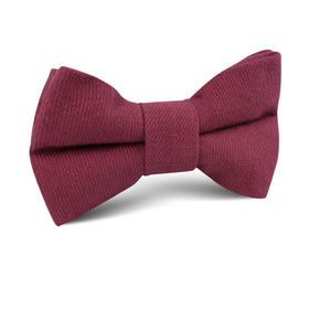 Mulberry Linen Kids Bow Tie