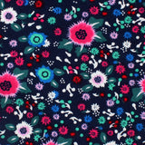 Nairobi Floral Pocket Square Fabric