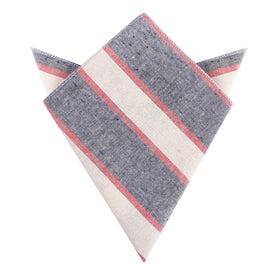 Napoleon Inferno Linen Pocket Square