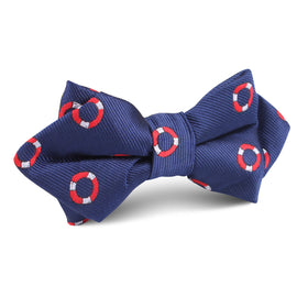 Nautical Float Diamond Bow Tie