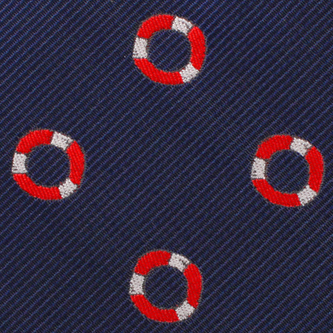 Nautical Float Pocket Square