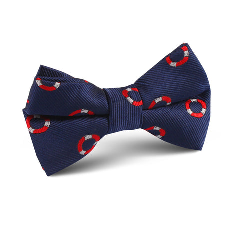 Nautical Float Kids Bow Tie