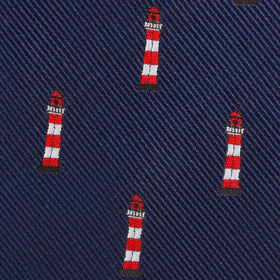 Nautical Lighthouse Diamond Bow Tie