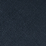 Navy Blue Basket Weave Linen Self Bow Tie Fabric