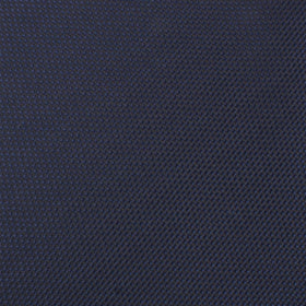 Navy Blue Oxford Stitch Kids Bow Tie