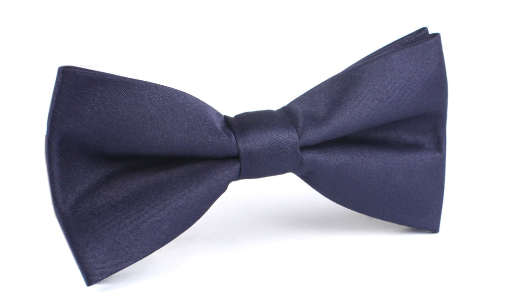 Navy Blue - Bow Tie