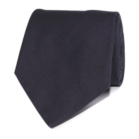 Navy Blue Cotton Necktie