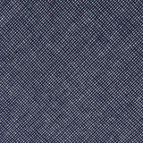 Navy Blue Needle Stitch Linen Bow Tie Fabric