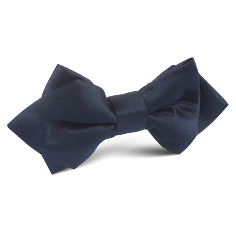Navy Blue OTAA Diamond Bow Tie