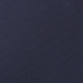 Navy Blue Oxford Stitch Bow Tie