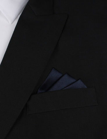 Navy Blue - Pocket Square