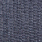 Navy Blue Slub Linen Fabric OTAA Self Tie Bow Ties