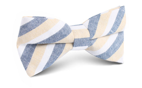 New York Striped Bow Tie