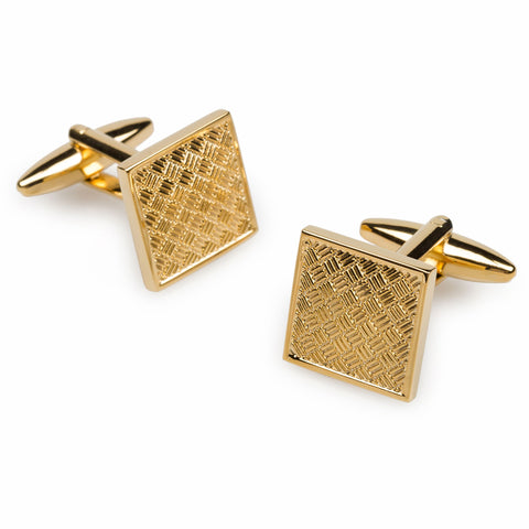 Newton Gold Cufflinks