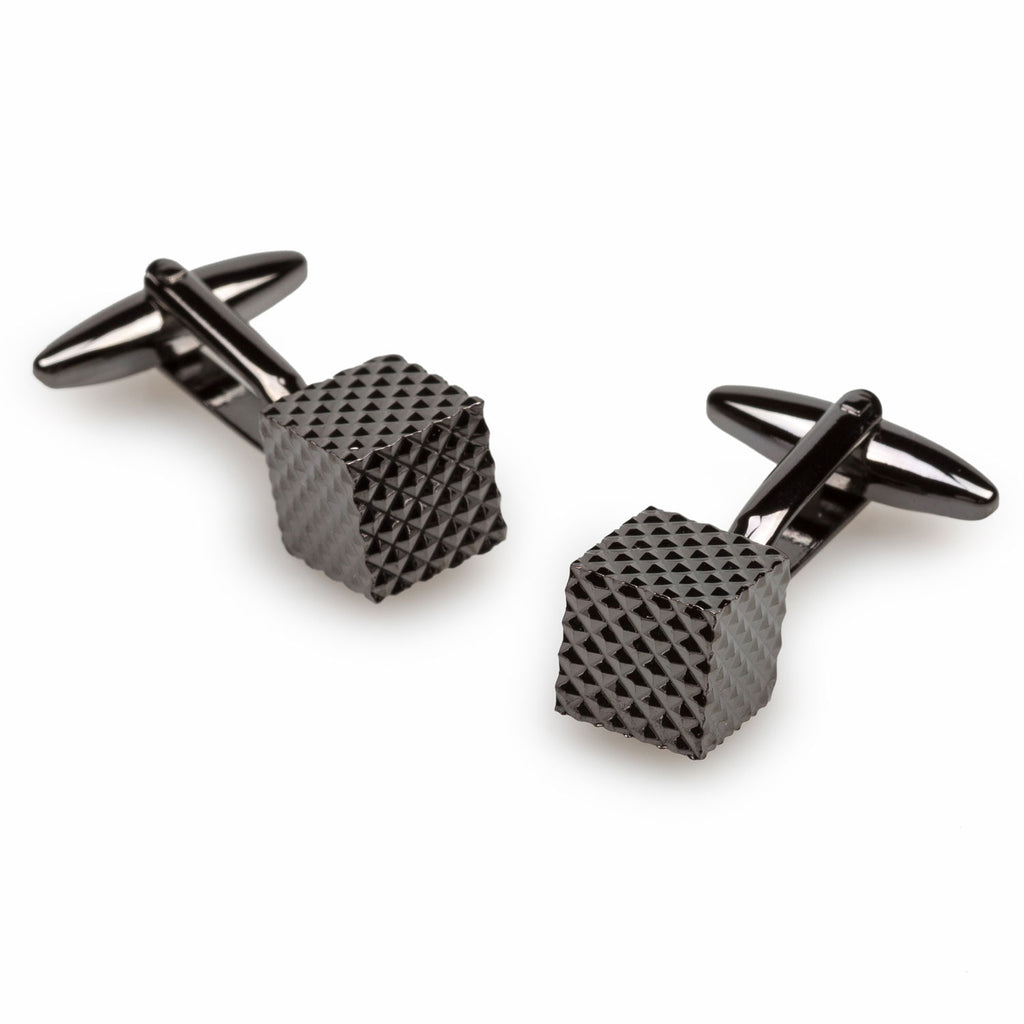 Nocturnal Gun Metal Cufflinks