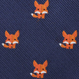 North American Kit Fox Fabric Kids Bowtie
