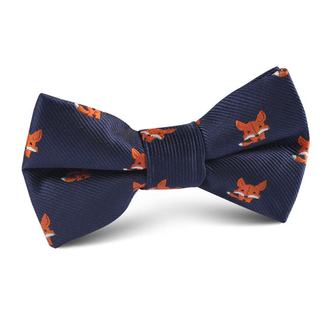 North American Kit Fox Kids Bow Tie