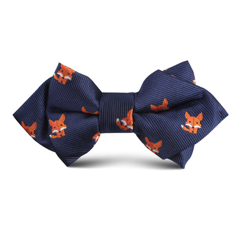 North American Kit Fox Kids Diamond Bow Tie