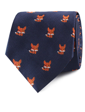 North American Kit Fox Tie
