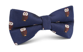 Northern Brown Owl Bow Tie