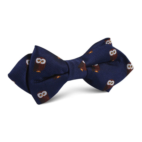 Northern Brown Owl Diamond Bow Tie