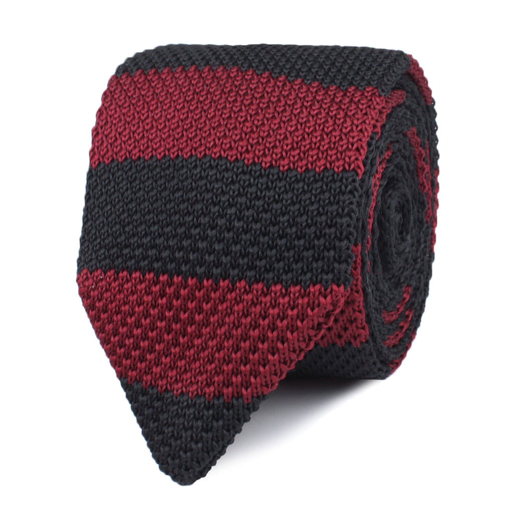 Nova Striped Knitted Tie