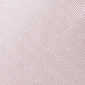 Nude Pink Polka Dots Pocket Square