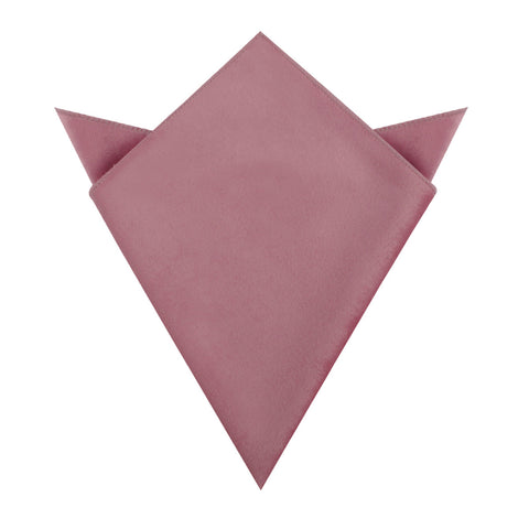 Nude Pink Velvet Pocket Square