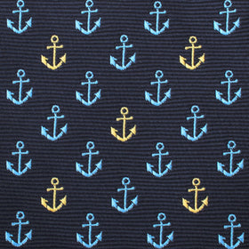 Ocho Rios Anchor Pocket Square