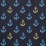 Ocho Rios Anchor Pocket Square Fabric