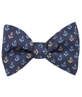 Ocho Rios Anchor Self Bow Tie