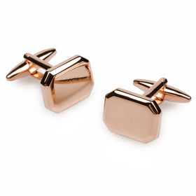 Octavia Rose Gold Cufflinks