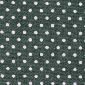 Olive Green Polka Dot Cotton Pocket Square