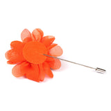 Tangelo Orange Lapel Flower