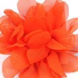 Tangelo Orange Lapel Flower Pin Close Boutonniere