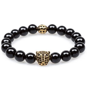 Orion Onyx Black Panther Bracelet