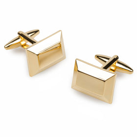 Orson Welles Gold Cufflinks
