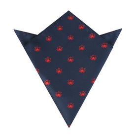 Ozy The Squid Pocket Square