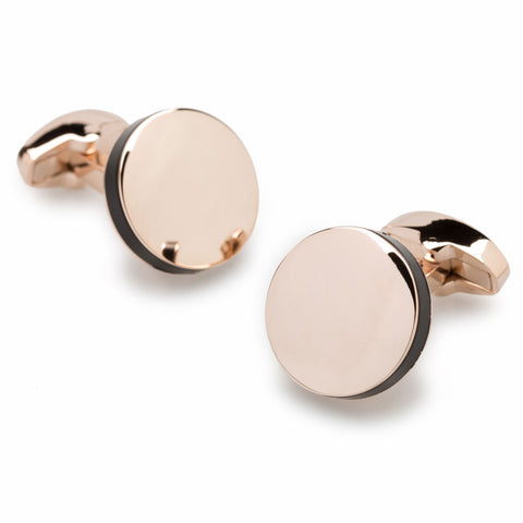 Pablo Picasso Rose Gold Cufflinks
