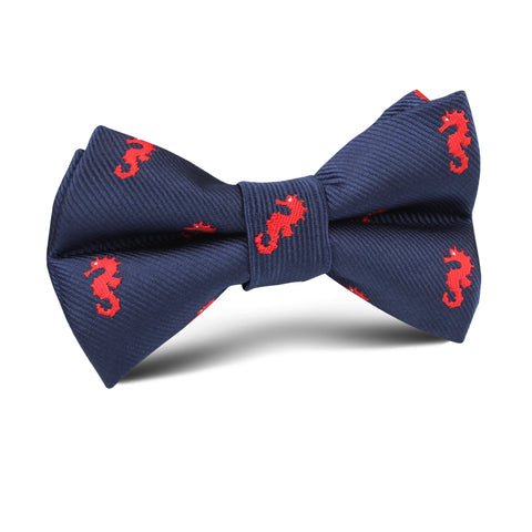 Pacific Seahorse Kids Bow Tie