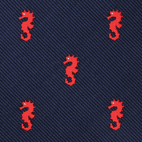 Pacific Seahorse Pocket Square