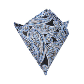 Paisley Blue - Pocket Square