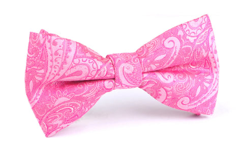 Paisley Pink - Bow Tie