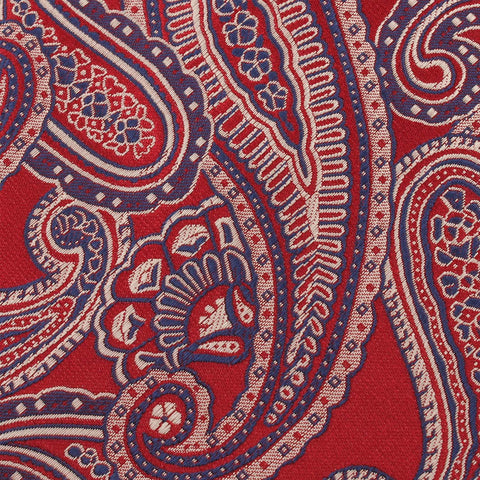 Paisley Red - Bow Tie