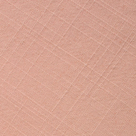 Paris Blush Pink Textured Vintage Linen Pocket Square