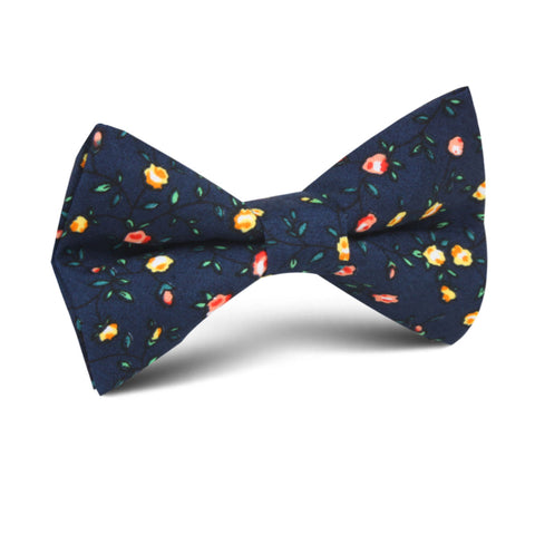 Paris Floral Kids Bow Tie