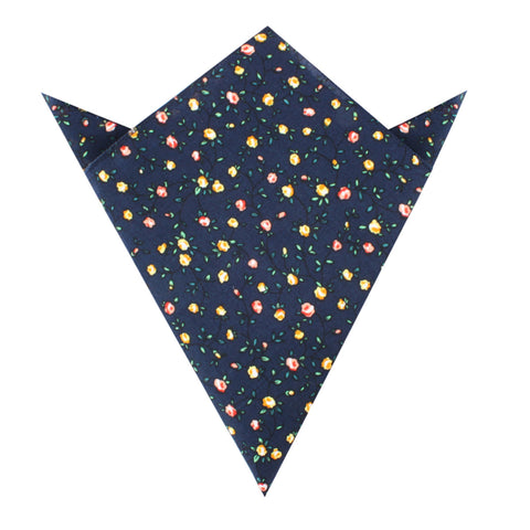 Paris Floral Pocket Square