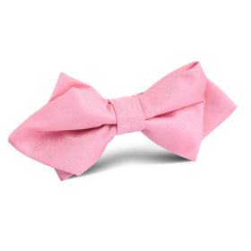 Pastel Pink Diamond Bow Tie