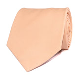 Peach Cotton Necktie Front