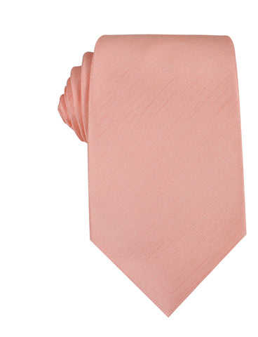 Peach Grain Necktie